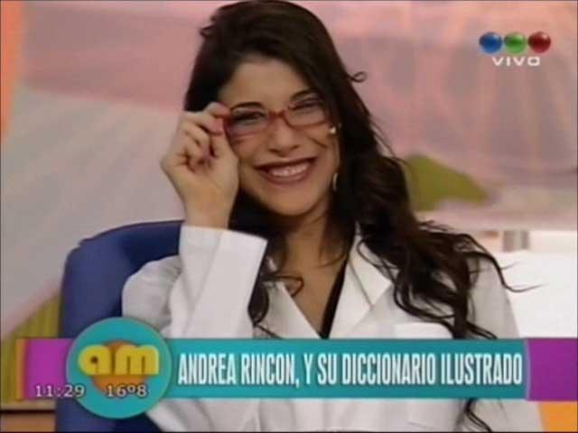 El desopilante diccionario de Andrea Rincón con las frases más divertidas de Andrea Rincóm