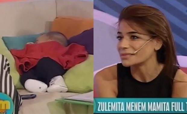 Zulemita Menem presentó a Malek, de 4 meses, y confirmó su separación
