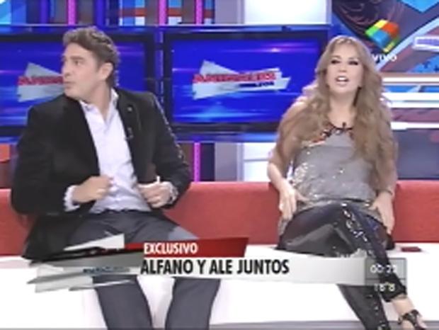 Graciela Alfano y una divertida anécdota con el celular de Alé mientras eran pareja