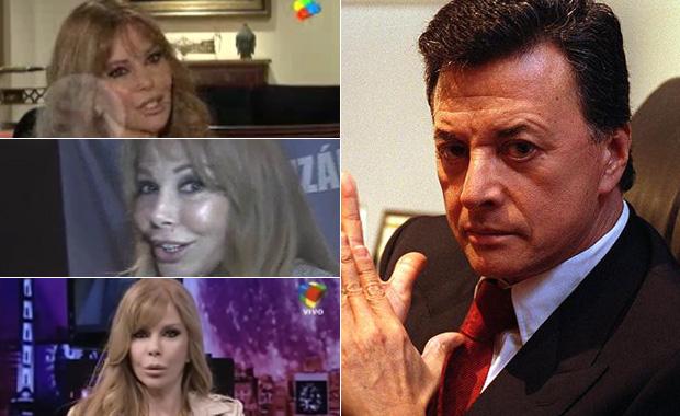 Graciela Alfano negó el romance con Palito Ortega, ¡que contó días atrás!
