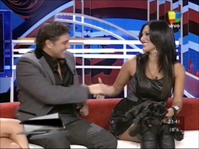 El reencuentro de Matías Alé y Silvina Escudero en TV: celos y confesiones
