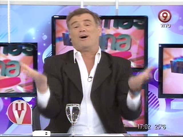 La broma de Teto Medina sobre el regreso de Marcelo Tinelli a la televisión
