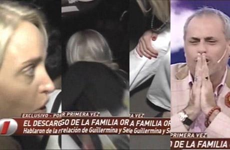 El blooper de la notera de Intrusos mientras perserguía a Luis Ortega