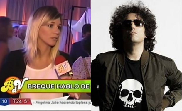 Micaela Breque habló sobre Andrés Calamaro tras la publicación de su foto desnuda