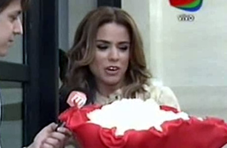 Marina Calabró le contó a BdV de su misterioso admirador que le manda flores