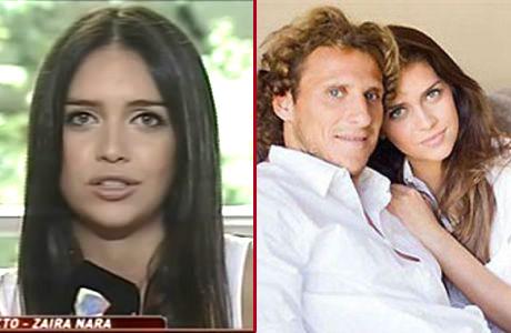 Zaira Nara y su escandalosa separación de Forlán:
