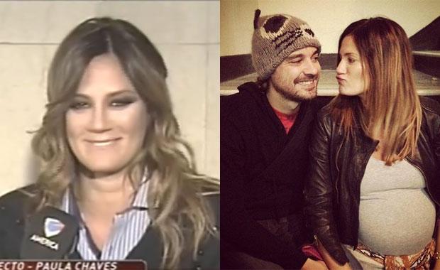 """Paula Chaves reveló la insólita """"prohibición"""" que Peter Alfonso le impone en el embarazo"""