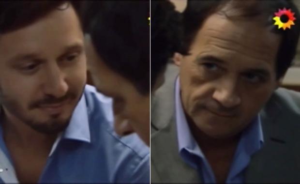 La intensa relación de Julio Chávez y Benjamín Vicuña en Farsantes