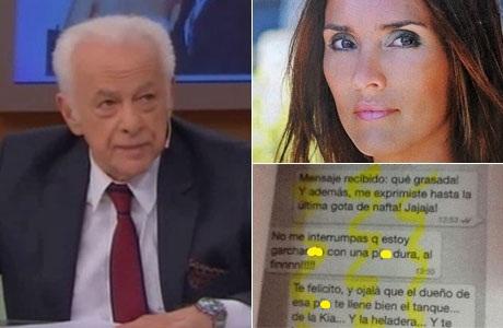 El video del picantísimo mensaje que le mandó Sofía Oleksak a Gerardo Sofovich ¡y él mostró en vivo!
