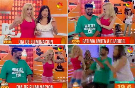 La impecable imitación de Fátima Florez a Claribel Medina en Cuestión de Peso: el video