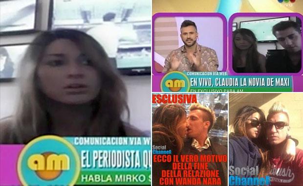 Habló Claudia, la chica de las fotos hot con Maxi López (parte 1)