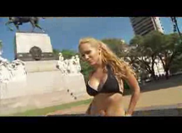 El video hot de Anabel Schafer, la participante de Viviendo con las estrellas
