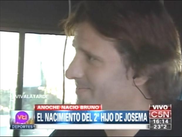 José María Listorti fue papá por segunda vez y presentó a su hijo en Viva la tarde
