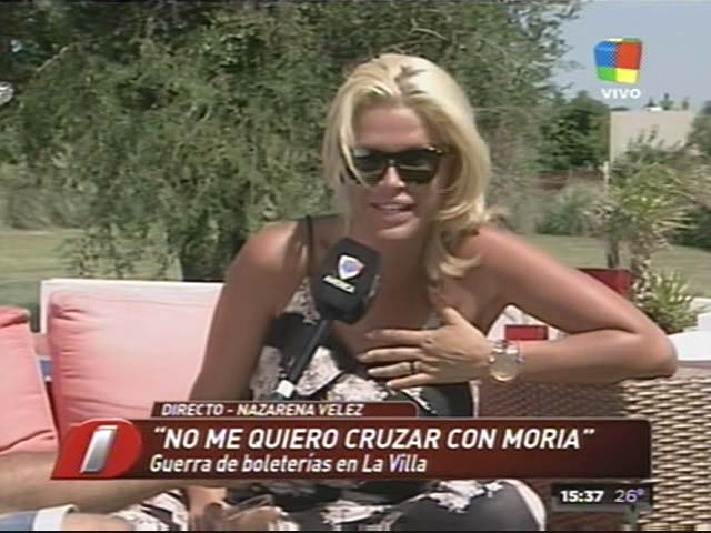 Nazarena Vélez explicó el pacto con Daniel Agostini por pedido de su hijo