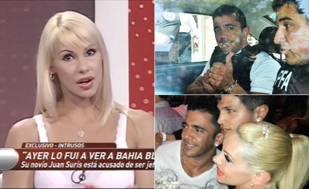 Mónica Farro visitó a Juan Suris en la cárcel: