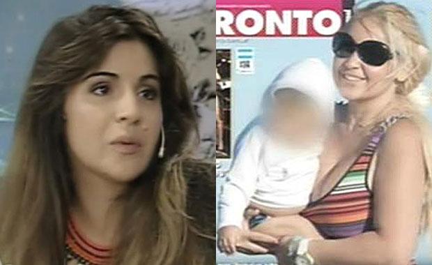 Gianinna Maradona y la relación con su hermanito, Diego Fernando: