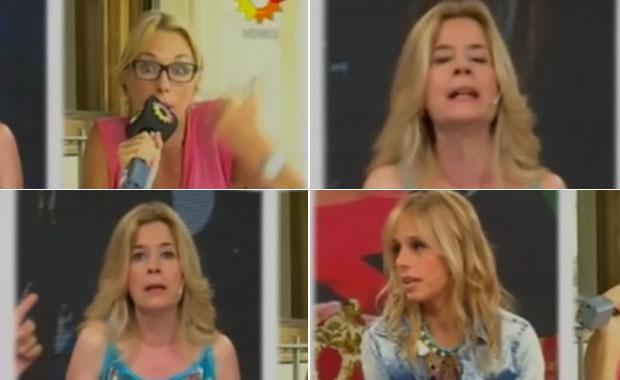 Picante cruce entre Yaniina Latorre y Mercedes Ninci en El diario de Mariana