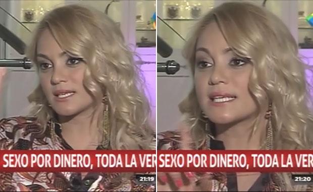 María Eugenia Ritó reveló cómo fue su debut en la prostitución VIP