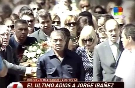 El estremecedor último adiós a Jorge Ibáñez