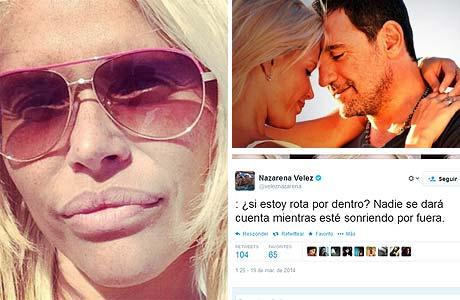 Nazarena Vélez habló de sus sugestivos tuits: