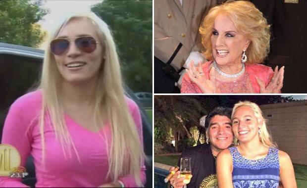 Rocío Oliva anunció que estará en Almorzando con Mirtha Legrand