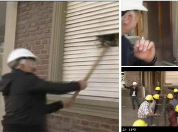 El video de la catártica demolición de Andy Kusnetzoff en Extreme Makeover