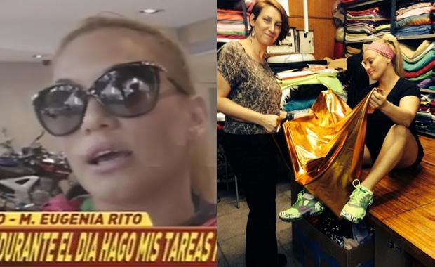 Tras la internación, María Eugenia Ritó se prepara para el Bailando