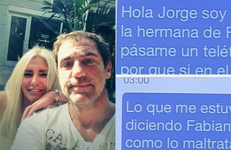 Los explosivos mensajes directos de la hermana de Fabián Rodríguez a Jorge Rial