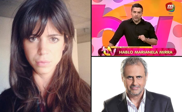 Marianela Mirra habló del escándalo con Jorge Rial y Ángel de Brito la cruzó
