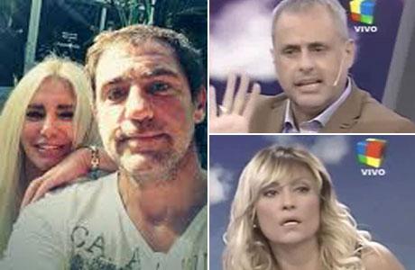 Intrusos: escandaloso cruce de la hermana de Fabián Rodríguez con Jorge Rial y Marcela Tauro