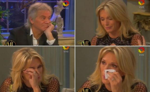 Beto Casella y Yanina Latorre: fuerte pelea y lágrimas en el programa de Mirtha