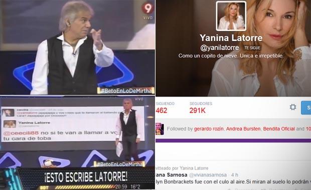 El contraataque: Beto Casella le dedicó un programa entero a Yanina Latorre