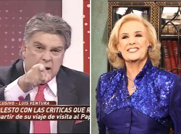 Luis Ventura arremetió contra Mirtha Legrand:
