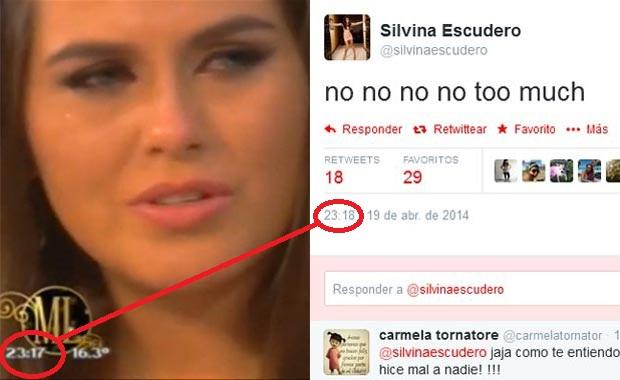 El tweet de Silvina Escudero cuando Loly Antoniale dijo: