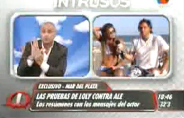 El día que Loly Antoniale mostró las pruebas sobre los llamados y mensajes de Matías Alé