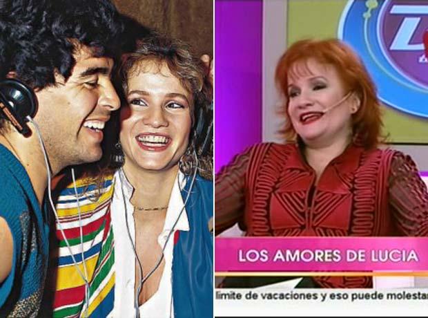 Lucía Galán reveló porqué abandonó a Diego Maradona
