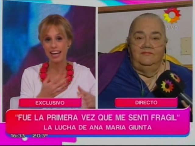 La milagrosa recuperación de Ana María Giunta: