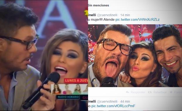 La charla de la Niña Loly y Marcelo Tinelli en ShowMatch: explosiva declaración de amor para Jorge Rial