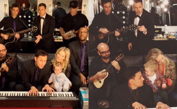 Luisana Lopilato y Michael Bublé, a full en Australia: Noah jugó con un koala y disfrutó de un recital muy especial de su papá