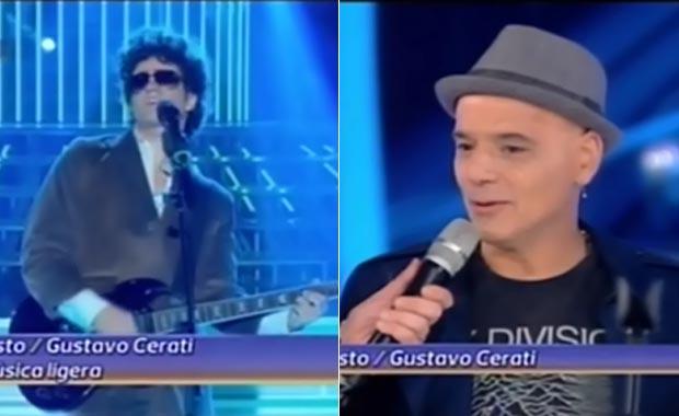 Tu cara me suena: Emotivo homenaje de Augusto Schuster a Gustavo Cerati con la presencia de Zeto Bosio