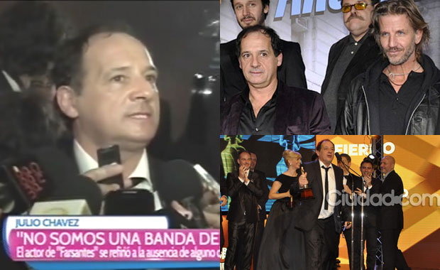 Julio Chávez y la polémica ausencia de Facundo Arana en los Martín Fierro 2014: