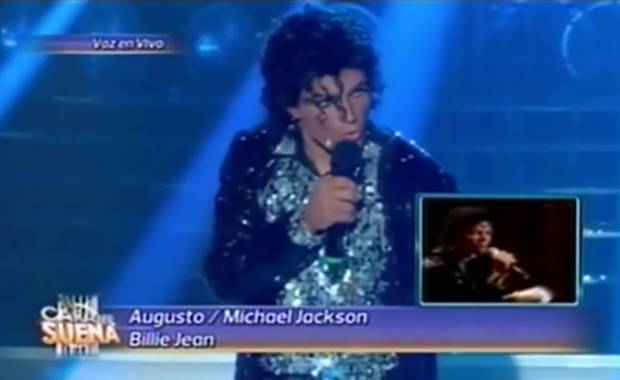 Augusto Schuster bailó igual a Michael Jackson en Tu cara me suena