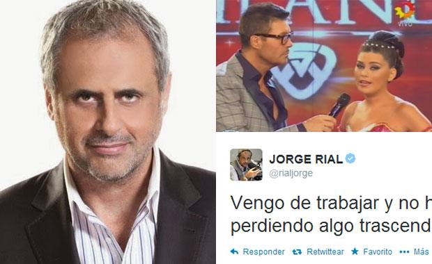 Los irónicos tweets de Jorge Rial durante la presentación de Loly Antoniale en ShowMatch