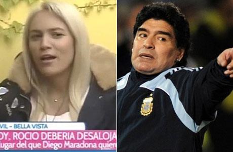 Rocío Oliva, ante el desalojo: