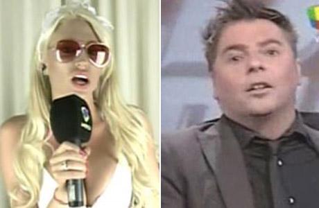 ¡El video! Fuerte pelea en vivo entre Vicky Xipolitakis y Daniel Ambrosino: se dijeron de todo