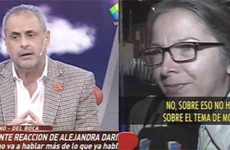 Jorge Rial, duro con Alejandra Darín y la Asociación Argentina de Actores: