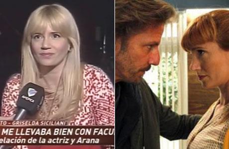 Griselda Siciliani y su relación con Facundo Arana: