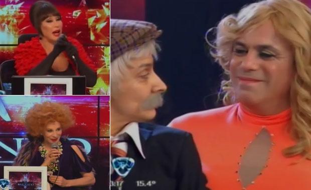 Emotivas devoluciones del jurado al Bicho Gómez y Anita Martínez
