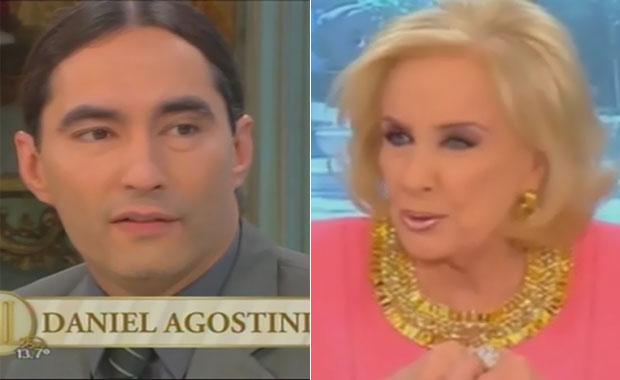 Daniel Agostini y otras cálidas para Fabián Rodríguez en el programa de Mirtha Legrand