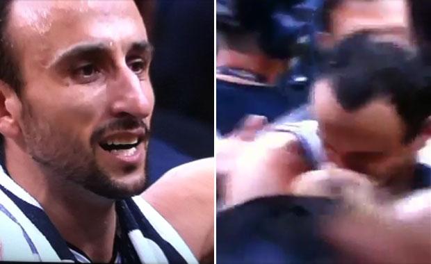 El video del emotivo abrazo de Manu Ginóbili con su mujer tras coronarse en la NBA